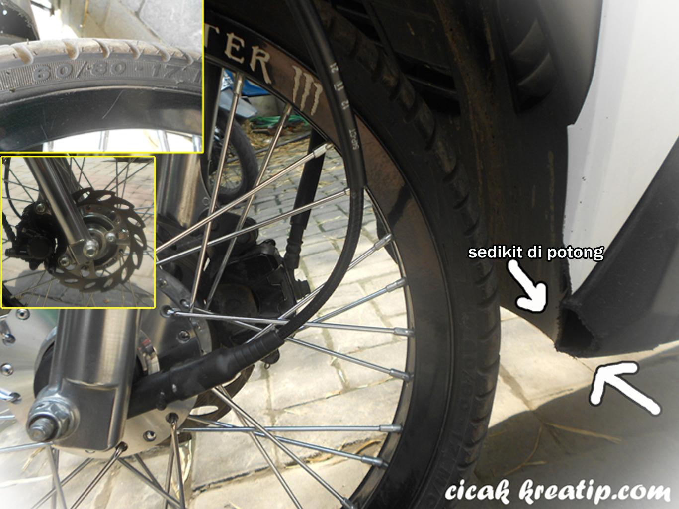 Yamaha Soul GT Pakai Velg 17 Dan Shock Belakang Yamaha X