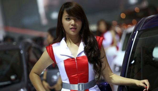 SPG Indonesia International Motor Show (IIMS) 2014 (13)