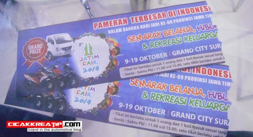 tiket masuk jatimfair 2014