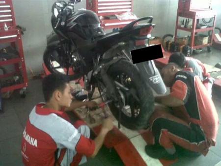 Bengkel Resmi Motor Yamaha