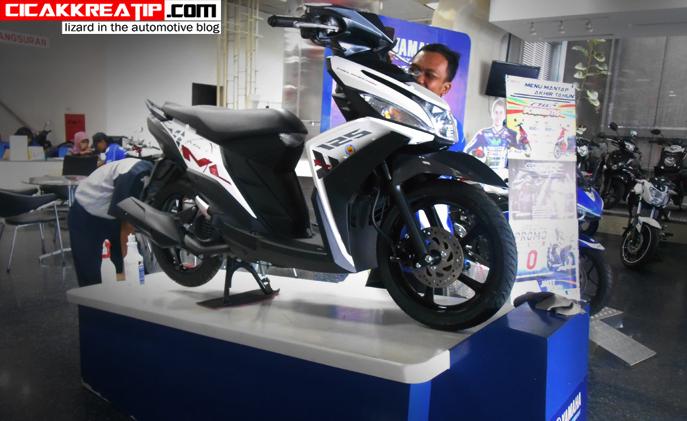 mio m3 blue core 125 cc