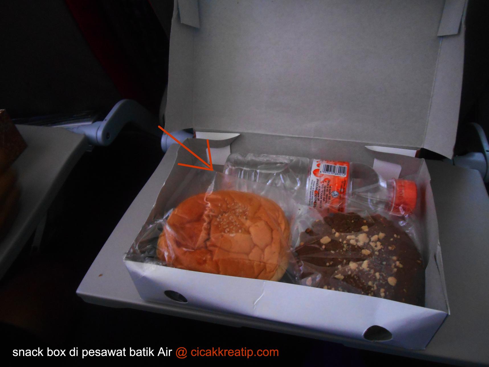 snack box batik air
