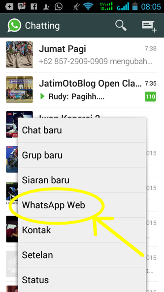 web whatsapp kode qr