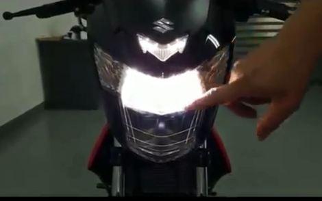 nyala-lampu-dekat-LED-suzuki-satria-F-injeksi-cicakkreatip-com