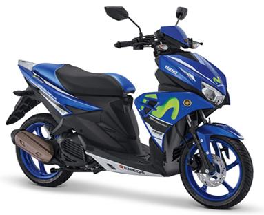 Yamaha Aerox 125LC Livery Movistar Yamaha MotoGP-cicak-kreatip