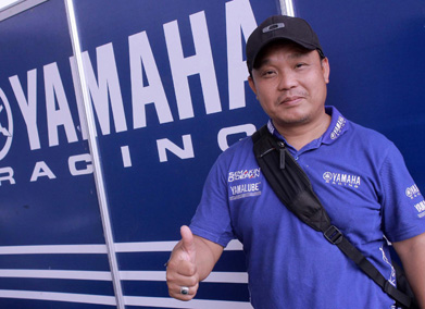 SUPRIYANTO, MANAGER MOTOR SPORTS YAMAHA INDONESIA