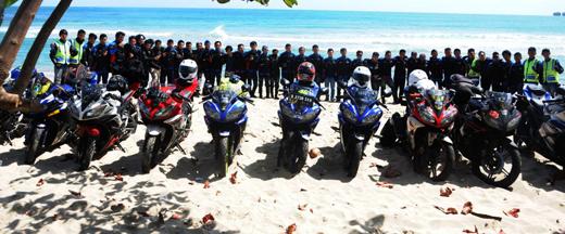 Touring Wajib Club Yamaha R15 Club Indonesia Jakarta 4