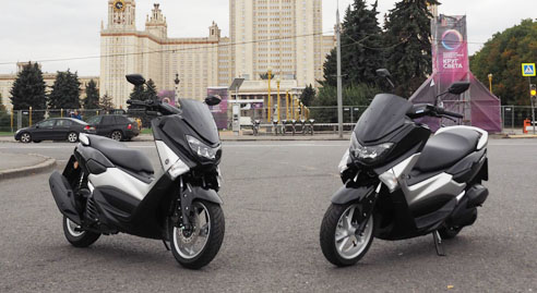 yamaha-nmax-tampak-di-area-moscow-state-university-rusia