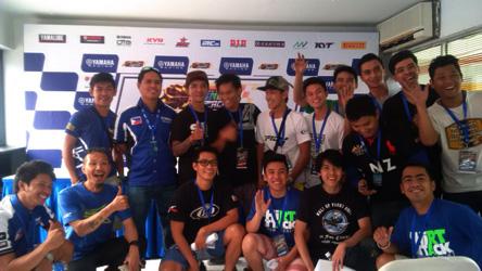 Tim dan pebalap Filipina di Sentul International Circuit