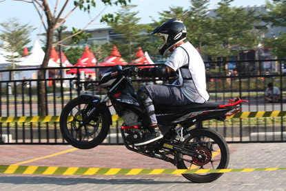 New Honda Sonic 150R Infastion